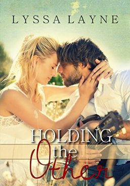 holding the other